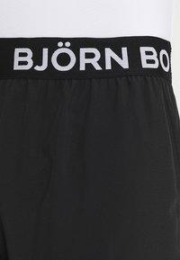 Björn Borg - SHORTS - Sportovní kraťasy - black beauty - 3