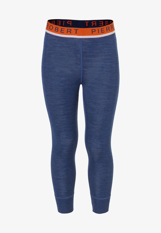 BASE LAYER  - Leggings - Trousers - navy orange