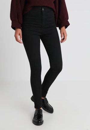 NMELLA SUPER - Skinny džíny - black