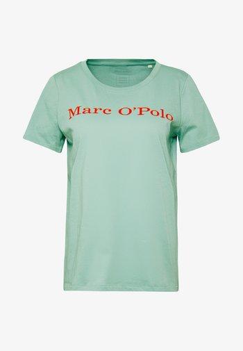 SHORT SLEEVE CREW NECK - T-shirts med print - misty spearmint