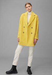 Marc O'Polo - Classic coat - mellow curry - 1