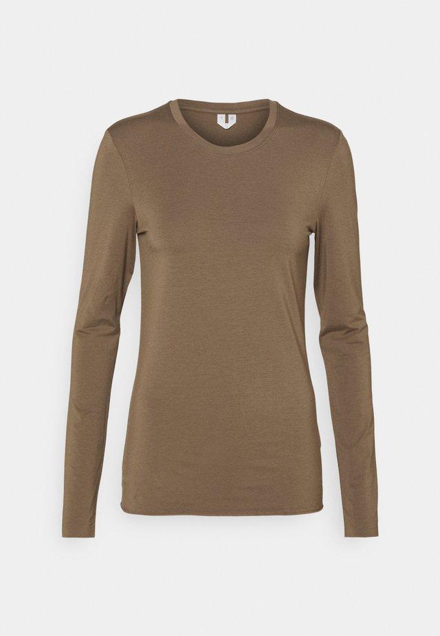 LONGSLEEVE - Long sleeved top - taupe