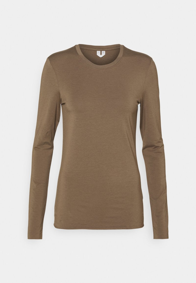 ARKET - LONGSLEEVE - Long sleeved top - taupe
