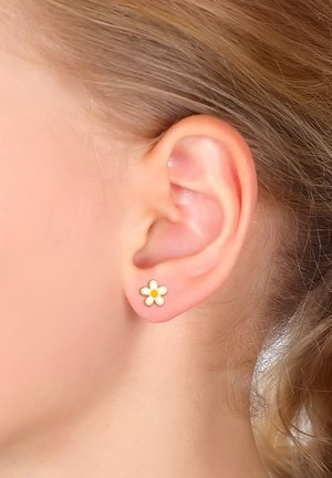 FLOWER DESIGN - Earrings - gold