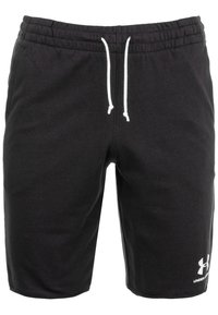 Under Armour - SPORTSTYLE TERRY  - Sports shorts - black - 0