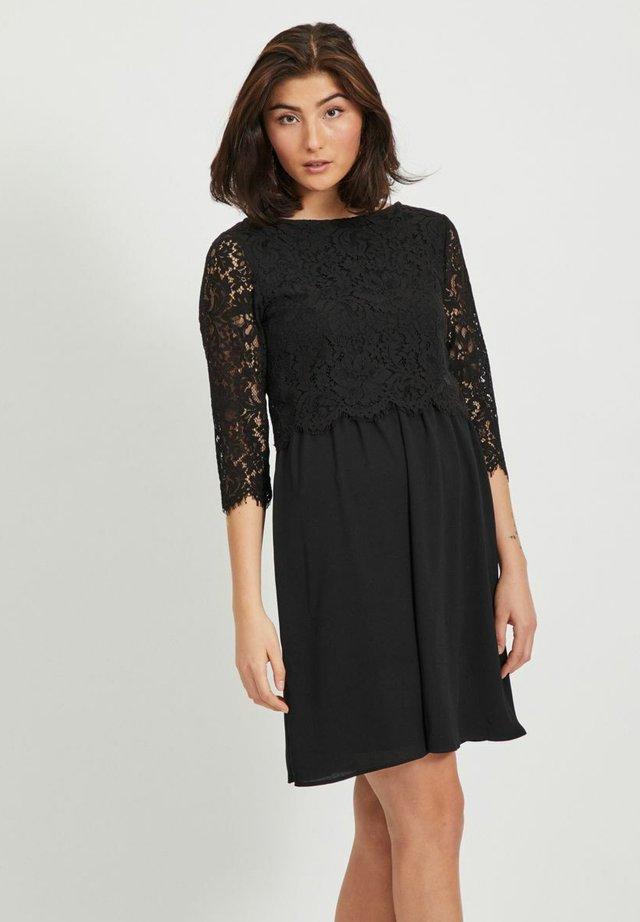 3/4-ÄRMEL  - Sukienka koktajlowa - black