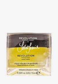 Revolution Skincare - REVOLUTION SKINCARE X JAKE JAMIE LEMON MERINGUE LIP MASK - Esfoliante labbra - - - 2