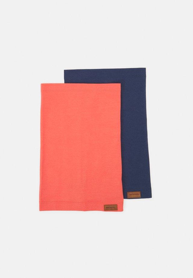 PLAIN SNOOD 2 PACK UNISEX - Hals- og hodeplagg - hot pink/estate blue