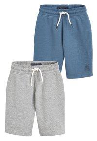 Next - 2 PACK SHORTS - Shorts - blue - 0