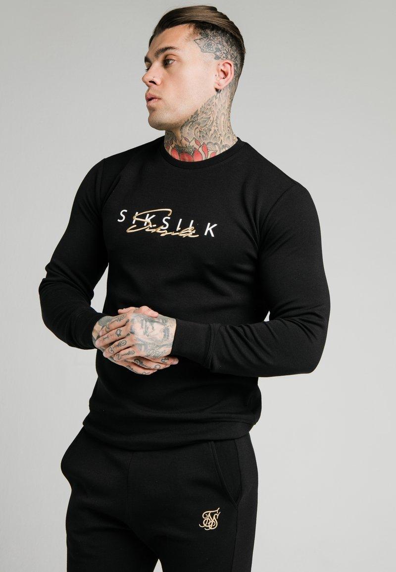SIKSILK - Sweater - black