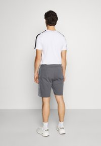 CLOSURE London - CHECKED SIDE PANELLED  - Tracksuit bottoms - grey
