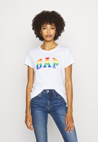 GAP - TEE - T-shirts med print - white/multicolor - 0