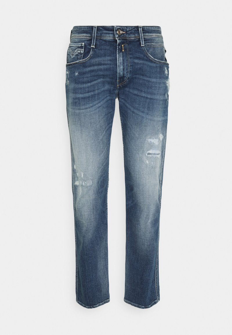 Replay - ANBASS AGED  - Straight leg jeans - medium blue