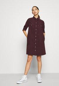 Levi's® - SELMA DRESS - Shirt dress - malbec - 1
