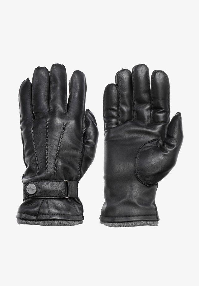 MIKE - Gloves - schwarz