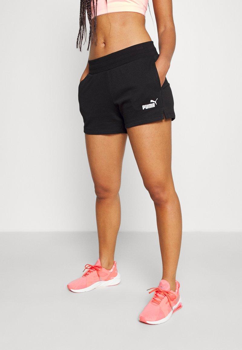 Puma - SHORTS - Sports shorts - black