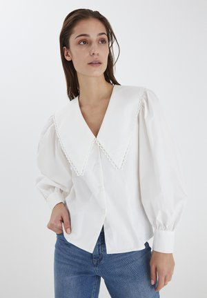 Blouse - bright white