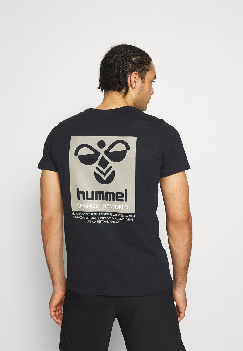 Hummel - HMLTORONTO  - T-shirts print - black