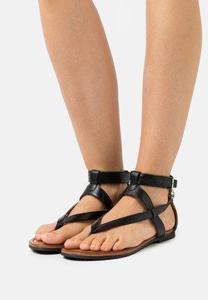 GEMBER - T-bar sandals - black