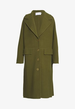 FACE COAT SIDE SLITS - Classic coat - moss