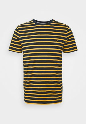 COVENTRY TEE - Print T-shirt - dark mustard