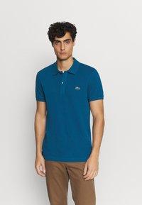 Lacoste - Polo shirt - raffia matting - 3