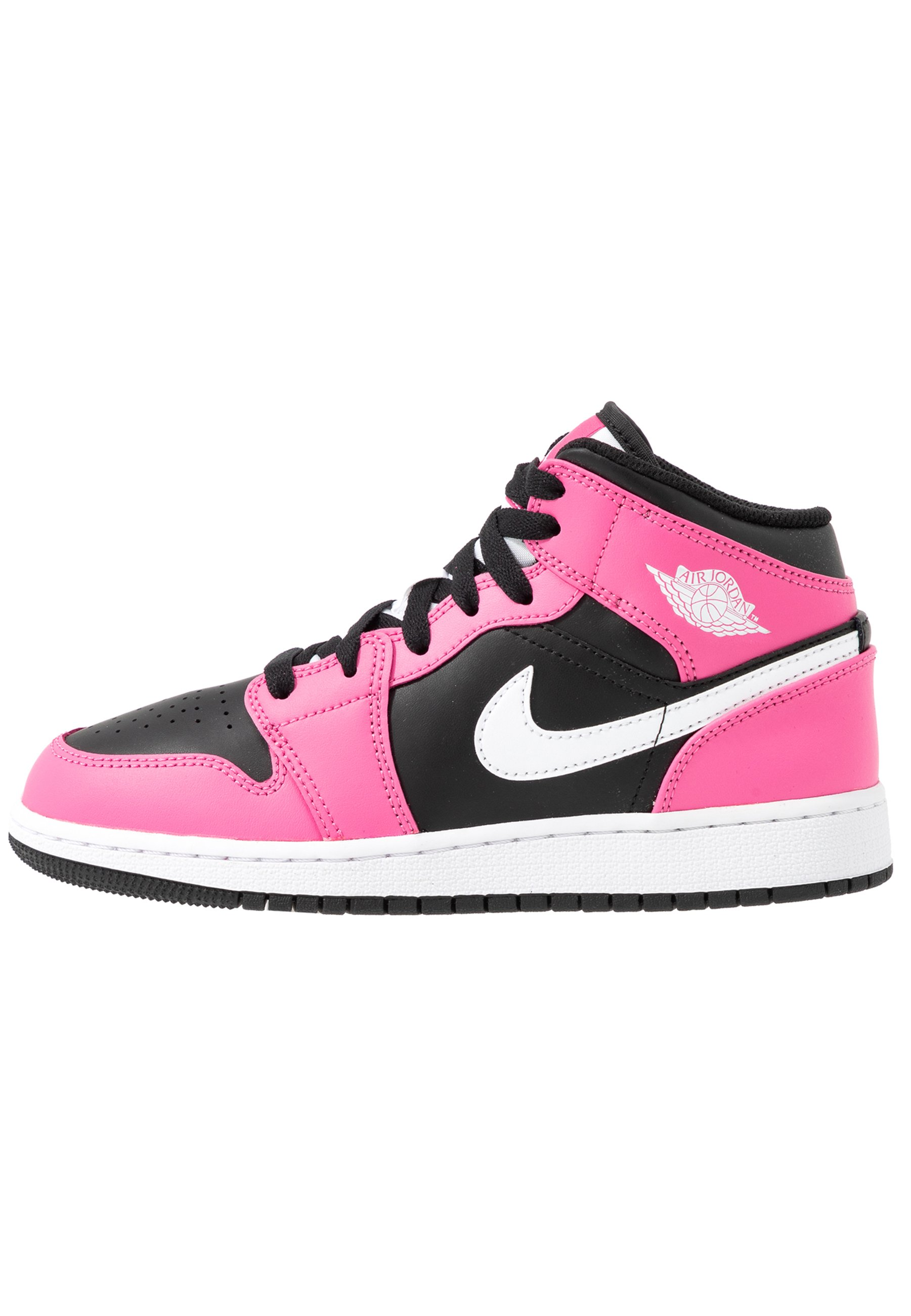AIR 1 MID UNISEX - Basketball shoes - black/white/pinksicle
