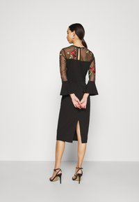 WAL G. - MIDI DRESS - Cocktail dress / Party dress - black - 2