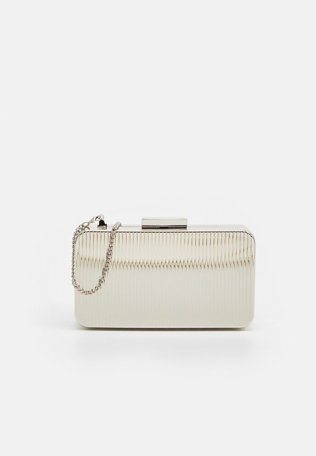 BOX BAG ENDLESS - Psaníčko - silver-coloured