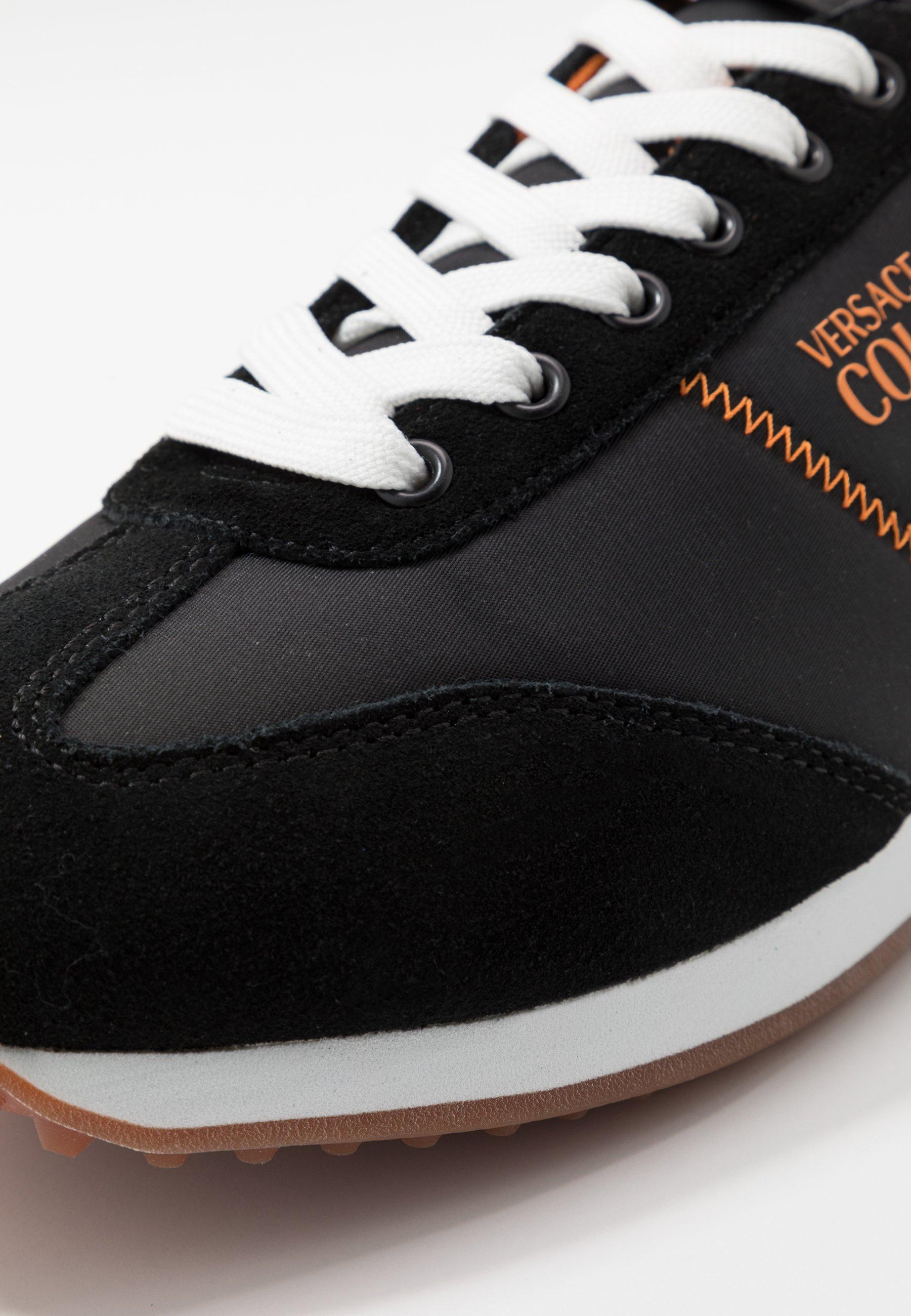Sneaker low blackorange