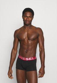 Diesel - DAMIEN 3 PACK - Pants - black/grey/red - 2