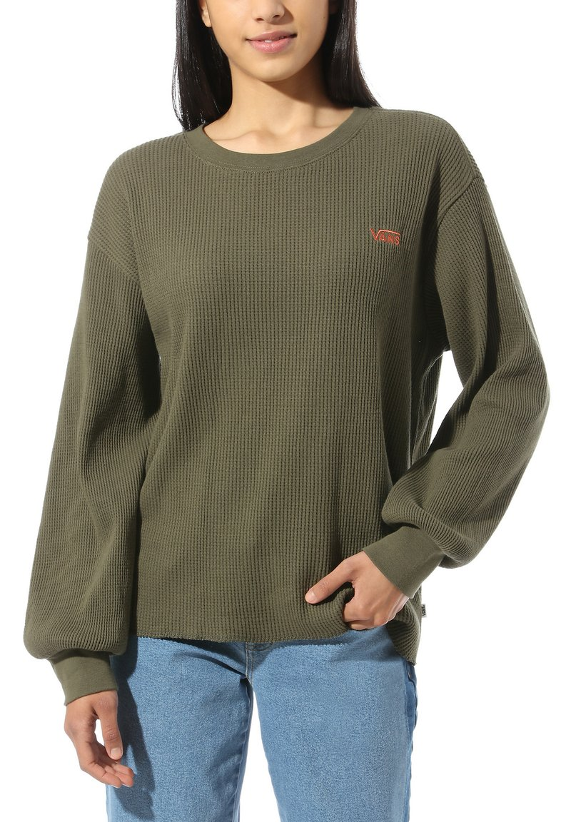 Vans - WM LORRAINE II THERMAL - Sweatshirt - grape leaf