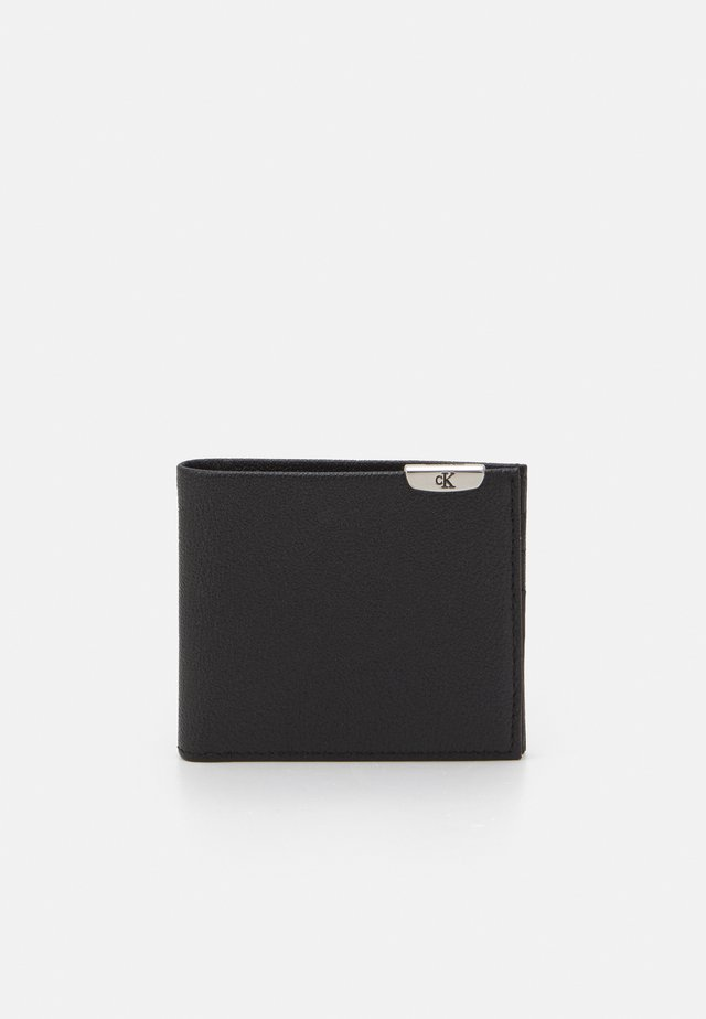MICRO PEBBLE BILLFOLD - Lompakko - black