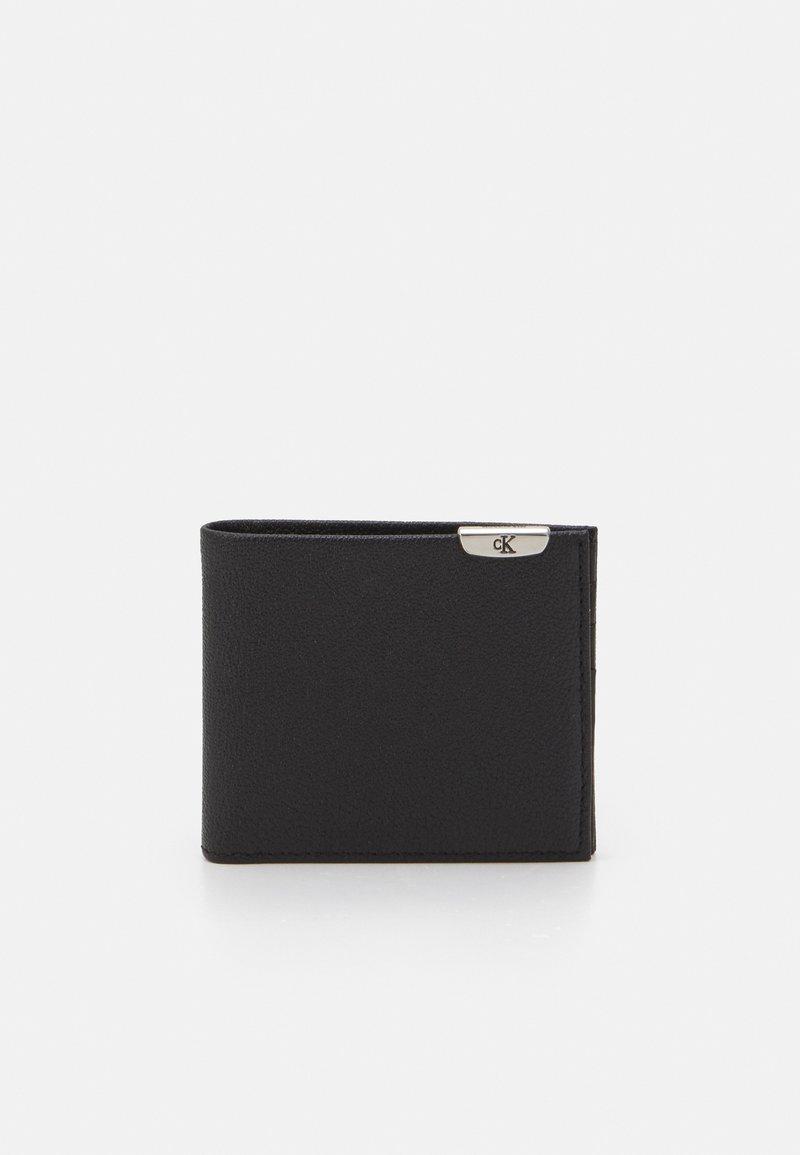 Calvin Klein Jeans - MICRO PEBBLE BILLFOLD - Plånbok - black