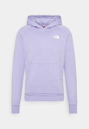 RAGLAN HOODIE - Hoodie - sweet lavender