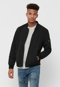 Only & Sons - ONSJACK  - Giubbotto Bomber - black - 0