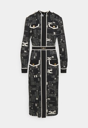 Jersey dress - nero/burro