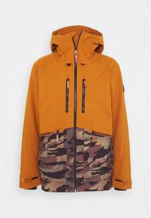TEXTURE JACKET - Snowboardová bunda - glazed ginger