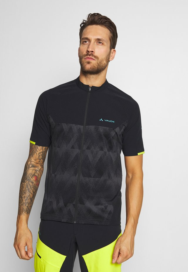 VIRT - Print T-shirt - black