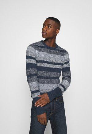 MARLON CREW NECK - Pullover - navy blazer