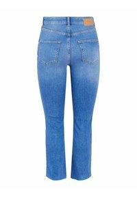 Pieces - Straight leg jeans - medium blue denim - 6