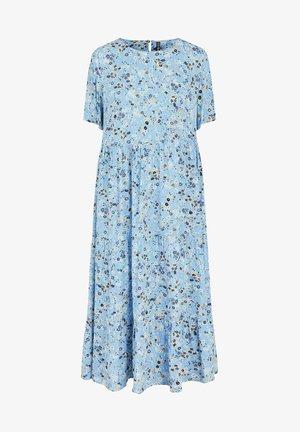 Maxi dress - little boy blue