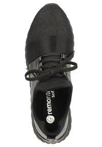 Remonte - Matalavartiset tennarit - schwarz/schwarz/schwarz/schwarz/black - 1