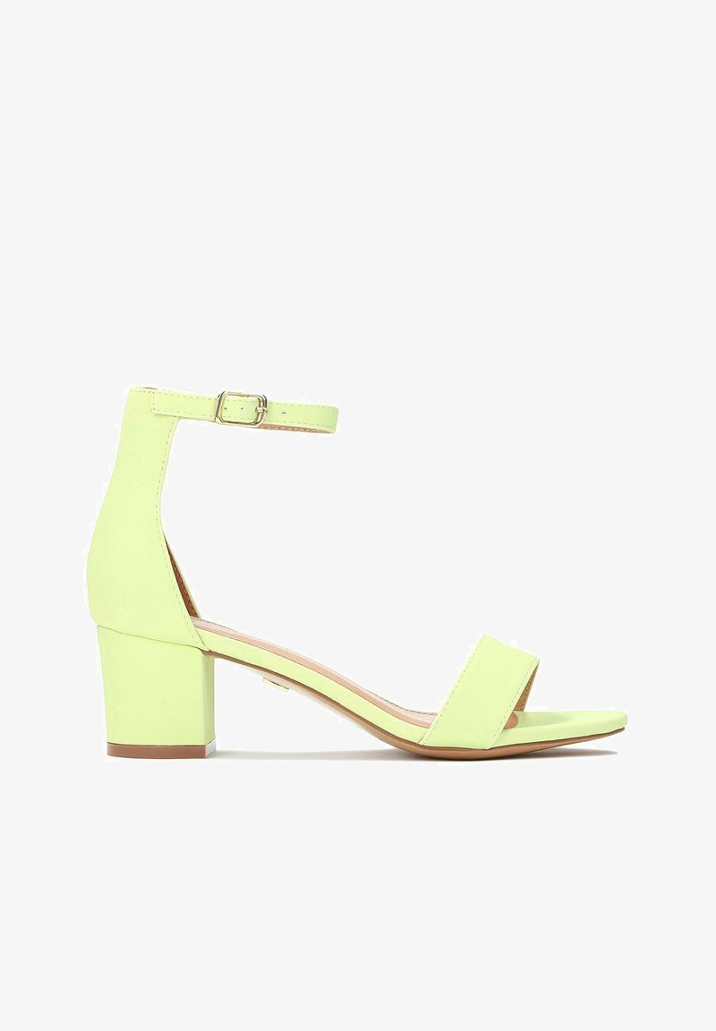 Kazar - MAKIRA - Ankle cuff sandals - pistachio