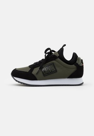 JODEY - Sneakersy niskie - olive night/black