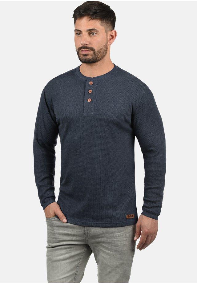 RUNDHALSSHIRT TOKATO - T-shirt à manches longues - insignia blue melange