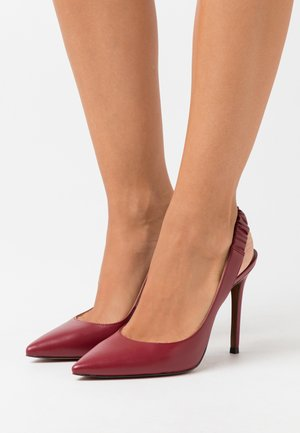 RALEIGH SLING - High heels - maroon