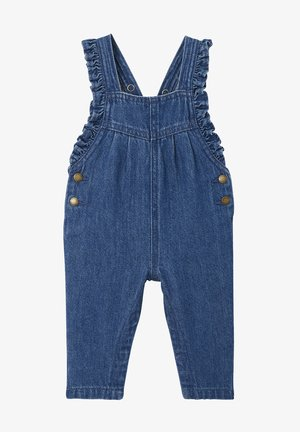 Dungarees - blue stone