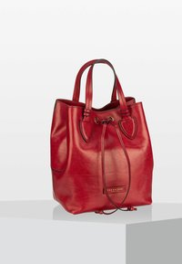 The Bridge - CATERINA  - Handbag - ribes rosso/oro - 1