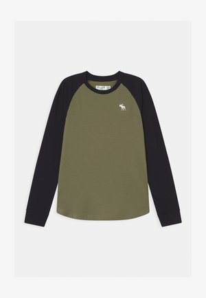 RAGLAN - Long sleeved top - green